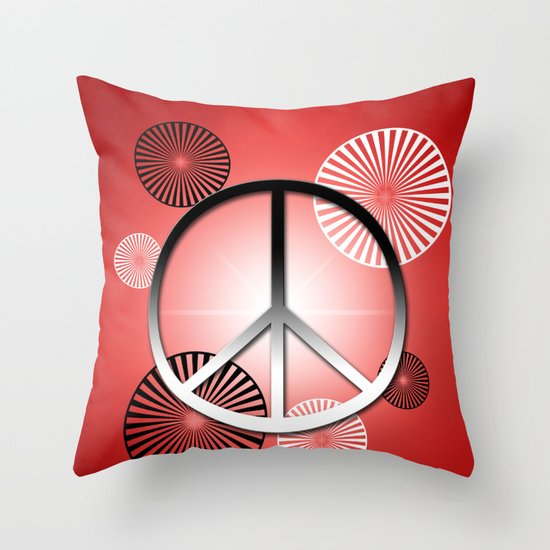 Let it Begin with Me II Throw Pillow