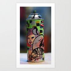 spray can Art Print