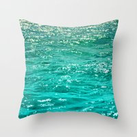 SIMPLY SEA Throw Pillow