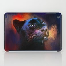 Colorful Expressions Black Leopard iPad Case