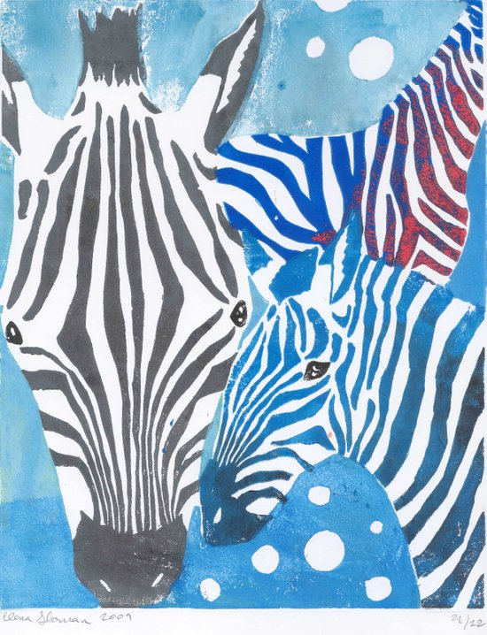 More Zebras Art Print