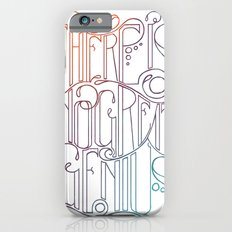 There is no Great Genius Without a Touch of Madness - Seneca Quote Part 1 Slim Case iPhone 6s