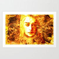 Bride Of Fire Art Print