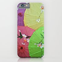 iPhone & iPod Case featuring Paper Parasols by Adriana Fuentevilla