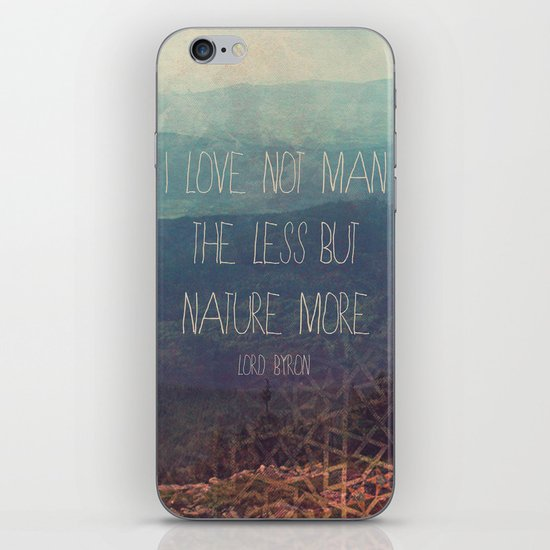 Nature More  iPhone & iPod Skin