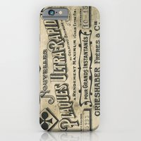 iPhone & iPod Case featuring Plaques Ultra Rapides by Tudor