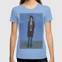 Black Days Womens Fitted Tee Athletic Blue SMALL