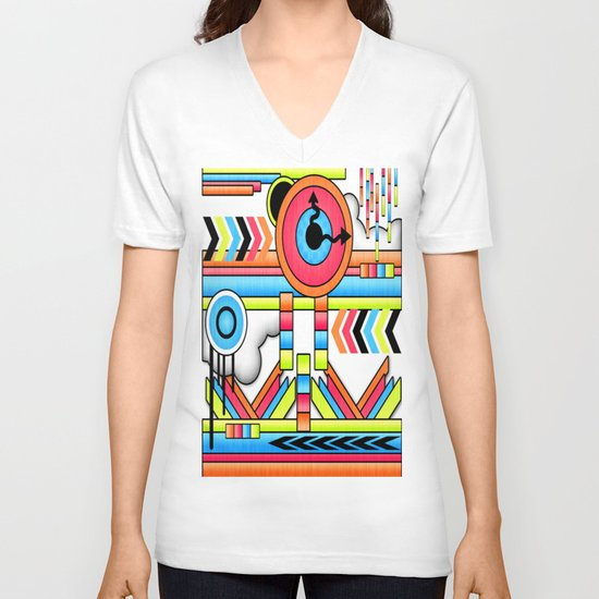 Fun Factory. V-neck T-shirt