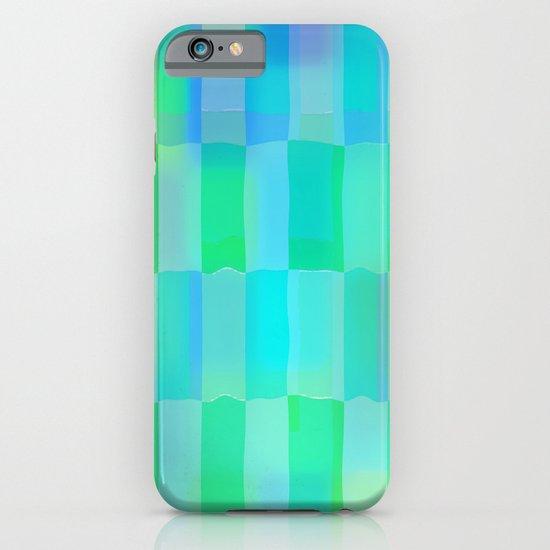 Aqua Pattern iPhone & iPod Case