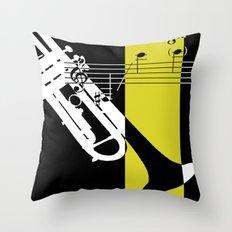 Brass II Throw Pillow