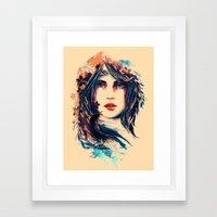 SOME DEVIL SOME ANGEL Framed Art Print