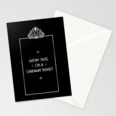 Gatsby Style Stationery Cards