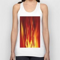 Into the fire 2. Unisex Tank Top