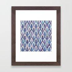 Art Deco Marble Pattern III. Framed Art Print
