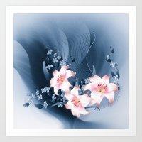 Lilien - Lilies Art Print