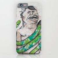 iPhone & iPod Case featuring King by Crooked Octopus
