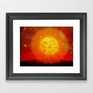 ALIEN SUN - 194 Framed Art Print