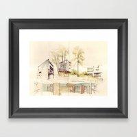Le Corbusier, Weißenhof… Framed Art Print
