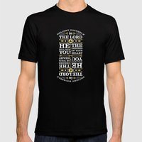 Psalm 37:4 Mens Fitted Tee Black SMALL