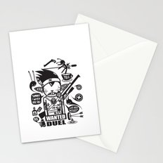 SORRY I MUST KILL YOU ! - DUEL Stationery Cards