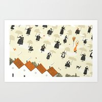 The Morning Commute Art Print