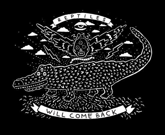 reptiles Art Print