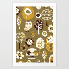 Tweety Chirp Hoot Art Print