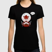 ChibizPop: Canuck Womens Fitted Tee Black SMALL