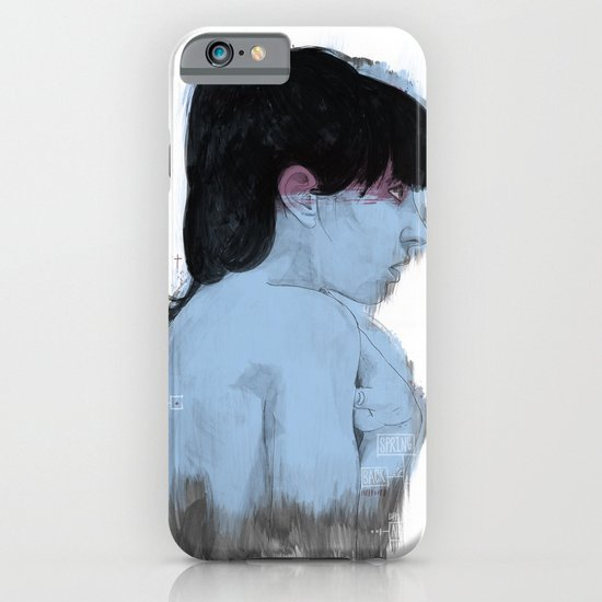 Fall Over, Spring Back iPhone & iPod Case