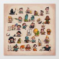 Tiny Adventures Canvas Print