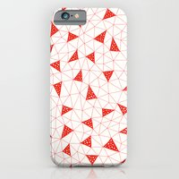 Red Tiangles iPhone 6 Slim Case
