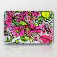 Bougainvillea 2 iPad Case