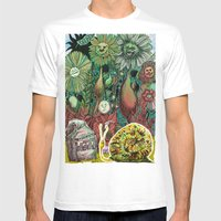 The case of The Wrong Feed On The Ol' Snail Trail... Mens Fitted Tee White SMALL