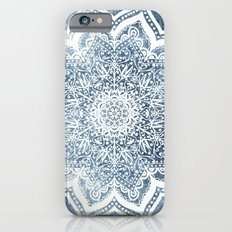 BLUEISH SEA FLOWER MANDALA Slim Case iPhone 6s