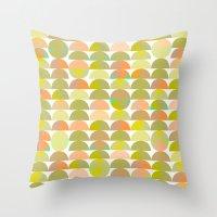 Geometric Juice Throw Pillow