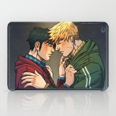 William and Theodore 01 iPad Case