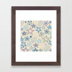 Stars Framed Art Print