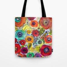 Mixed Garden Tote Bag