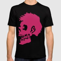 Zombie Head Mens Fitted Tee Black SMALL