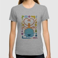 Best Friends Womens Fitted Tee Athletic Grey SMALL