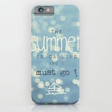 SUMMER IS CALLING iPhone 6s Slim Case