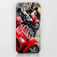 iPhone & iPod Case featuring Scooters by Barbara Gordon Photography