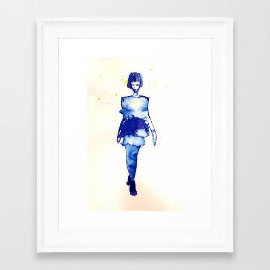 Models Ink 2 Framed Art Print