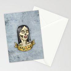 'Mom' Zombie Tattoo print Stationery Cards