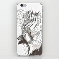 EL Hombre Pájaro iPhone & iPod Skin