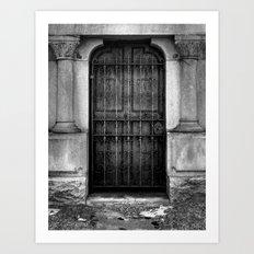 'Iron & Limestone' Art Print