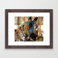 Carousel Horse 2 Framed Art Print
