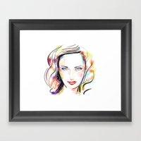 Color 04 Framed Art Print