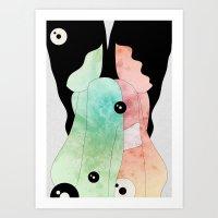 Acid Explorations Art Print