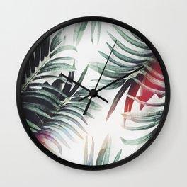 Wall Clock - Vintage plants - Lost Empire